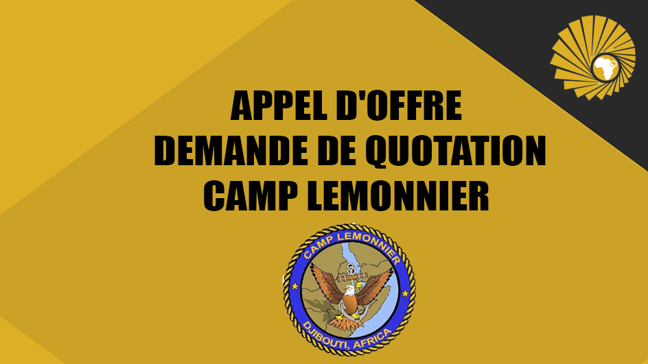 APPEL D'OFFRE -DEMANDE DE QUOTATION- CAMP LEMONNIER