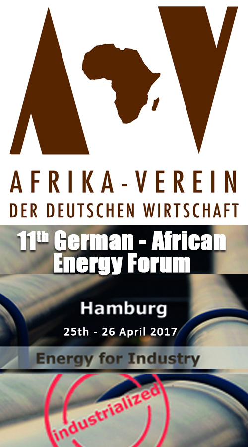 11th German - AfricanEnergy Forum